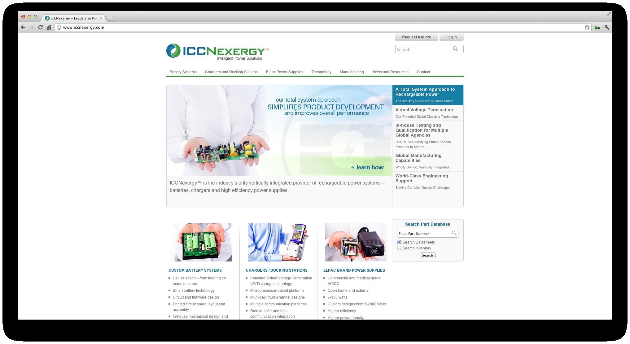 ICC Nexergy Website