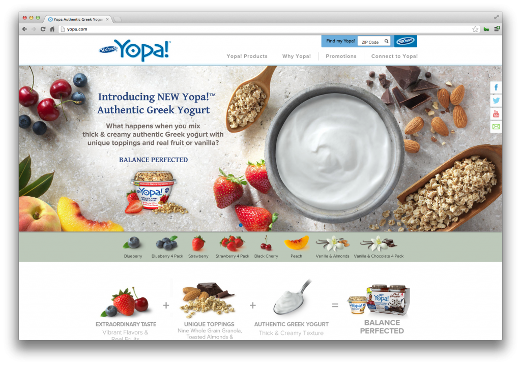 Yopa! Website