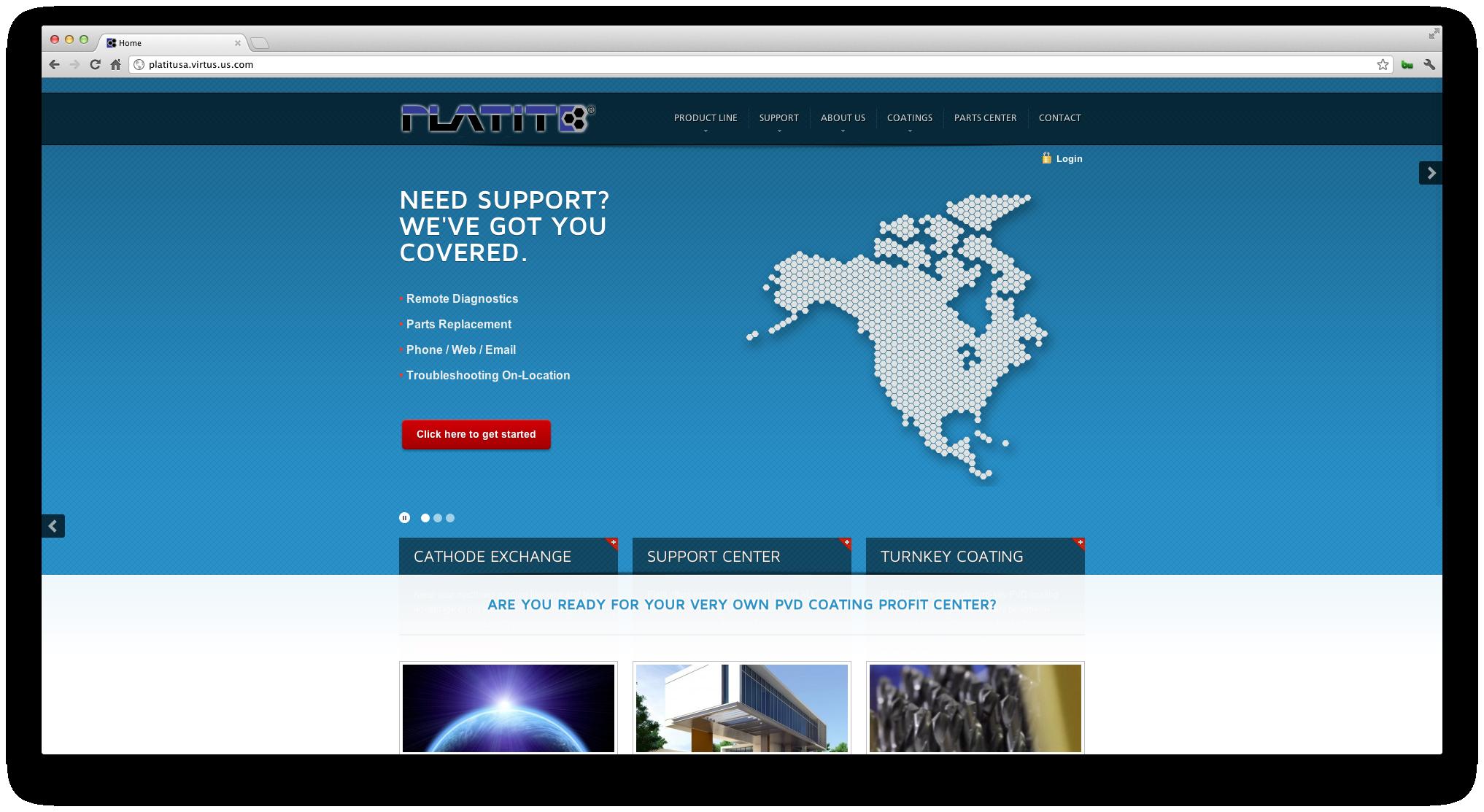 Platit Website