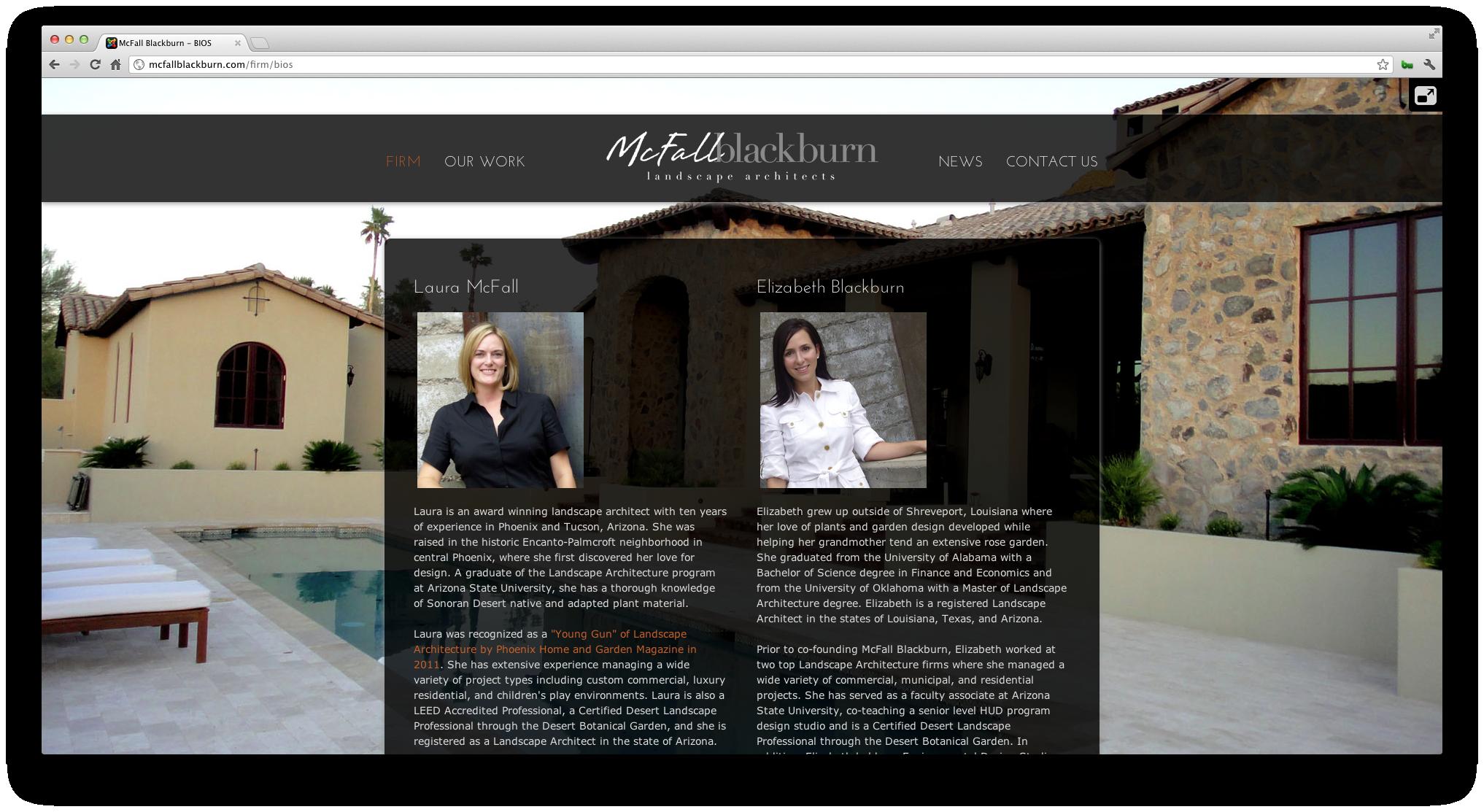 McFall Blackburn Website